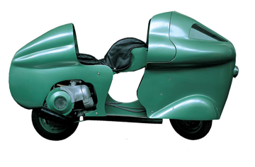 1950 VESPA MONTHLERY