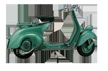 1951 VESPA 125 VACANZE ROMANE