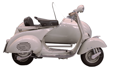 1955 VESPA 150 SIDECAR