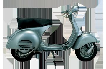 1955 VESPA 150 GS PRESERIE
