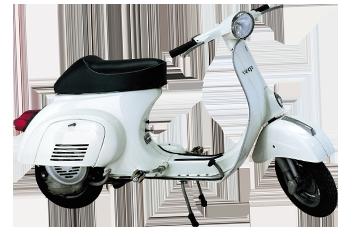 1970 Vespa 50 pedali per mercato francese (V5A1T)