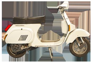 1985 Vespa PK 125 S automatica elestart