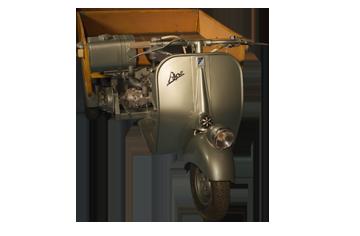 1953 Ape 150 cassone
