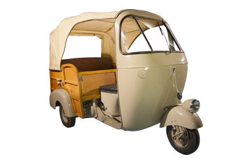 1957 Ape 150 AC calessino