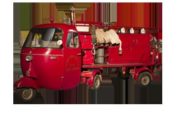 1963 Pentarò autopompa antincendio