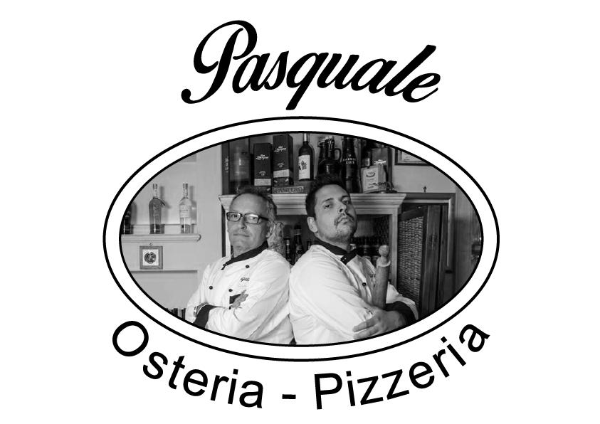 Logo Pasquale - Osteria -Pizzeria